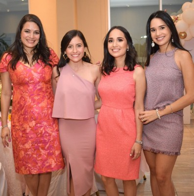 Pamela, Gabriela, Ana Lucia de Ronen y Ana Cristina Soto.