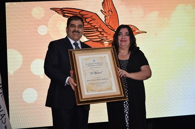 Luisa Agüero galardonada con el premio El Zorzal por la CCIC