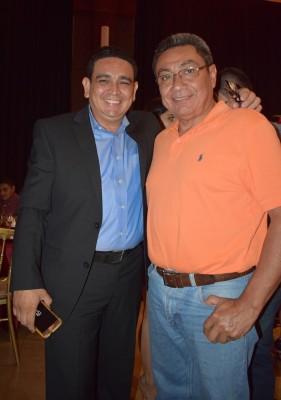 Mariano Zaldívar y Hugo Díaz.