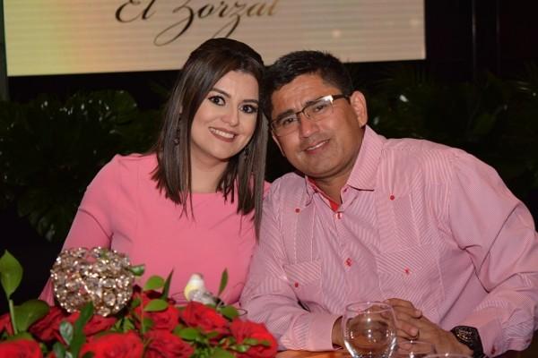 Tatiana Paz y Eduardo Coto.