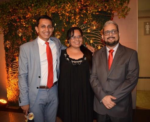 Yeison Maldonado, Karla Escoto y Carlos Martínez.