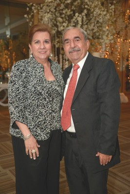 Rita y Saleh Simón.