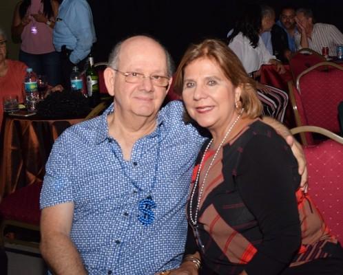 Roberto y Cinthia Naser.