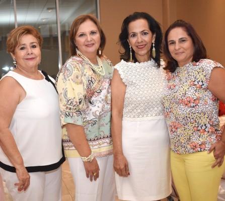 Rosy Méndez, Ana Leyla Sikaffy, Loreth Kawas y Fabiana Soto.