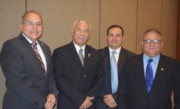 Servio Erazo, Carlos Flores, Randy Monterroso, Salvador Manchamé.