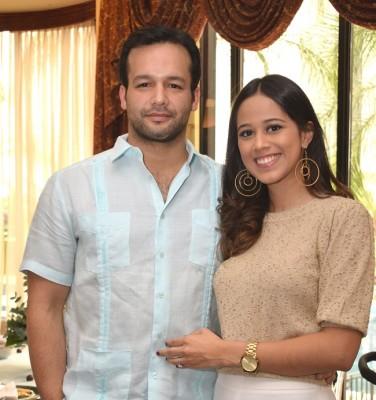 Sidney Panting y Ana Lucía García