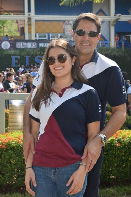 Tricia y Roberto Matuty