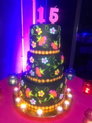 El fenomenal y llamativo pastel de cumpleaños de Letizia ocupó un lugar especial en su celebración