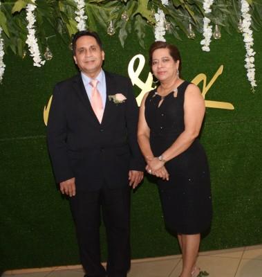 Wilfredo Barahona y Marilú Rivas