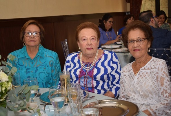 Yolanda de Soto, Bertha de Fiszman y Aurora Pineda