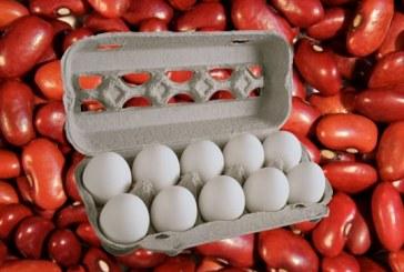 Autoridades descartan especulación con frijoles y huevos porque hay suficientes en el mercado