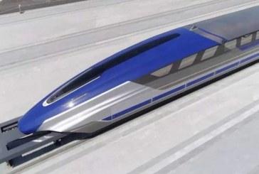 China tendrá tren bala flotante, alcanzará 600 kilómetros por hora
