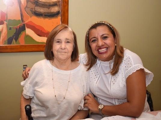 Aida Rivera y Cinthia Anduray