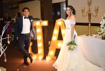 La boda de Ana Lucía y Jorge José…un enlace de esencia arabesca