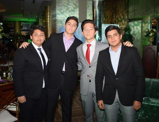 Armando Zambrano, Roberto Del Papa, Rene Bendaña y Ferzon Garcia