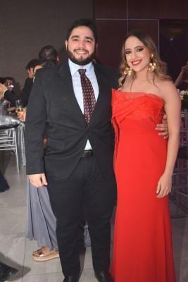 Aroldo Paz y Adriana Fonseca