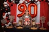 El feliz cumpleaños de doña Gilda Adele Fontana