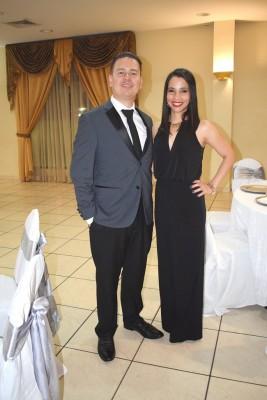Fernando Orellana y Yamilet Mejía.