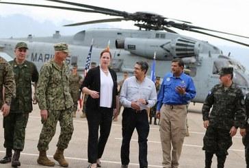 EEUU y Honduras trabajarán para mejorar respuesta en casos de desastre