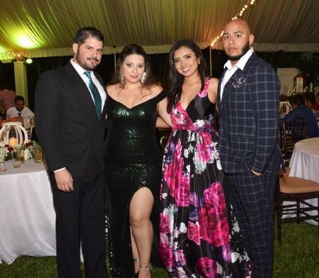 Guillermo Jarquín, Nina Aguilar, Nilia Aguilar y Daniel Urbina