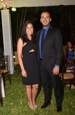 Jorge Bueso y Vanessa Cardona