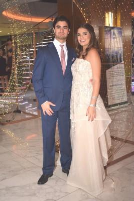 Juan Fernando Andonie y Tricia Matuty
