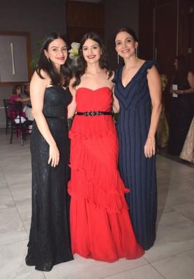 María Fernanda, María Jose y Elke de Bendeck