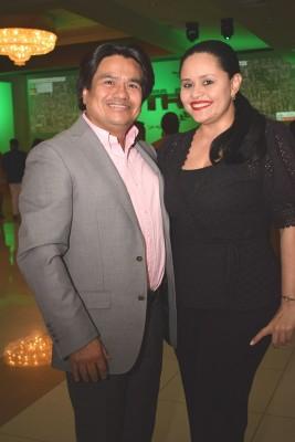 Marlon Rodríguez e Inés Yadira Cubero