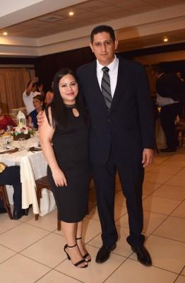Noris Alvarenga y Robinson Velásquez