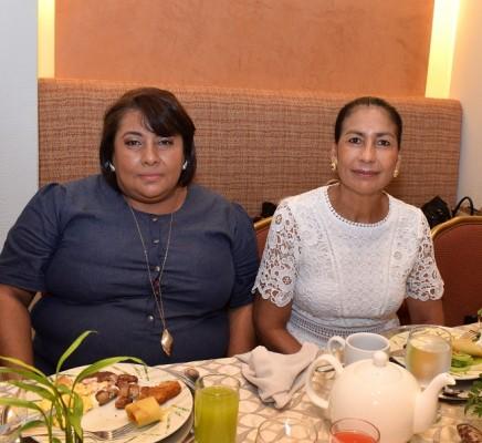 Odely Machado y Dalila Paredes