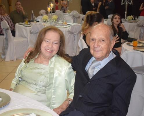 Raquel González y Alejandro Orellana.