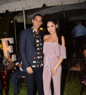 Roberto Aguilar y Victoria Bardales