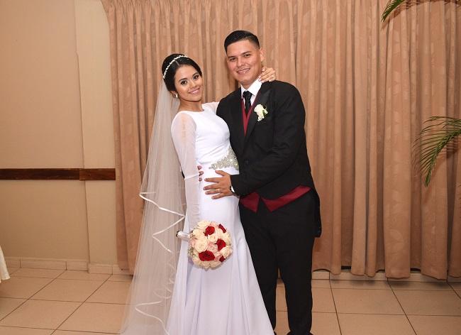 La boda de Abraham y Rosi…derroche de absoluto romanticismo