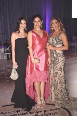 Sabrina Chahin, Vanessa Saybe y Karla de Villar
