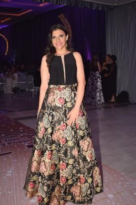 Sofia Handal se enfundó en un modelo súper exclusivo que la hizo lucir espectacular