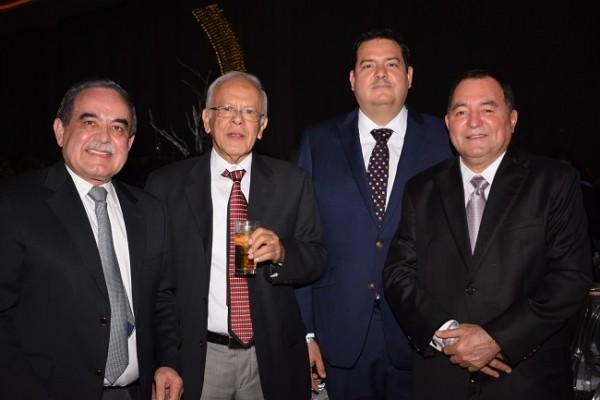 Tuky Bendaña, Enrique Alegría, Ricardo y Marco Avila