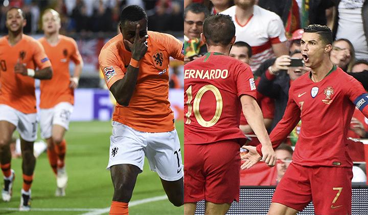 La joven selección de Holanda se enfrentará a Portugal por el título de la Liga de Naciones