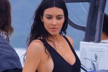 Kim Kardashian muestra sus famosas curvas en Costa Rica