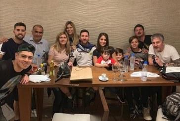 Messi festejó su cumpleaños 32 en una íntima fiesta familiar (+FOTOS)