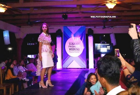 Passarela del Summer Fashion Weeknd en Puerto Cortés