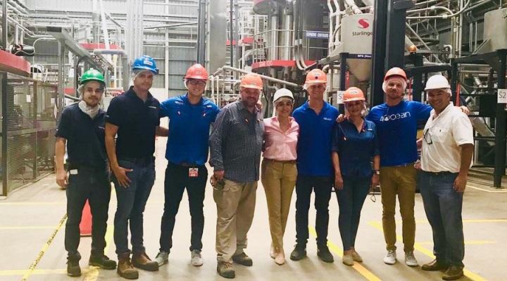 Empresa estadounidense 4Ocean interesada en sumarse a la limpieza de costas y ríos en Honduras