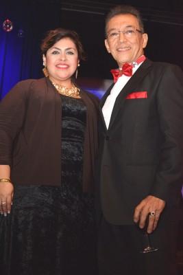Alma Ondina Matute y Jorge Alberto Coto