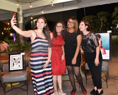 Ana Torres Neyba Ceren, Axa Melendez y Nur Fernandez