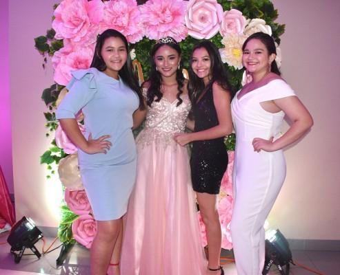 Ashley Cardona, Astryd Carolina Morataya Álvarez, María Fernanda Tabora y Ariana Zablah