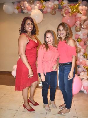 Astrid Guifarro, Sonia Díaz y Daysi Antúnez