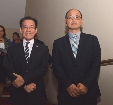 Benito Liao y Antonio Liu