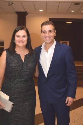 Carmen y Alejandro Larach.