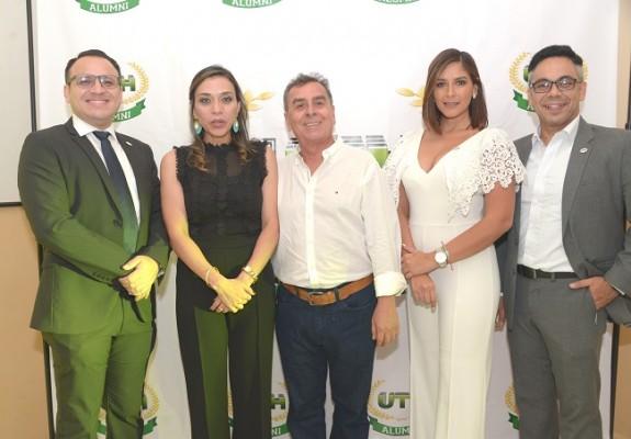 Diego Chacón, Luz Bueno, Sergio Menjívar, Ruth Arita y Eduardo Posadas