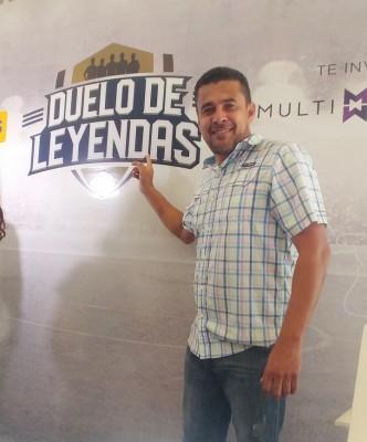 Henry Enamorado, será una de Las leyendas nacionales que estará en el encuentro deportivo.