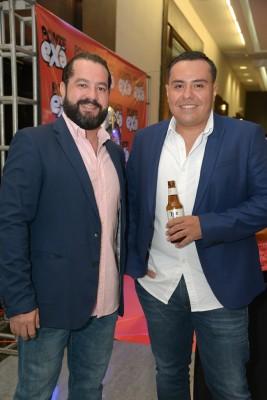 Edgardo Castillo y Marco Tulio López.